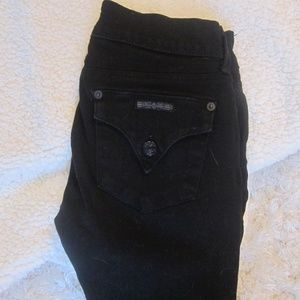 Hudson Black Collin Flap Jeans